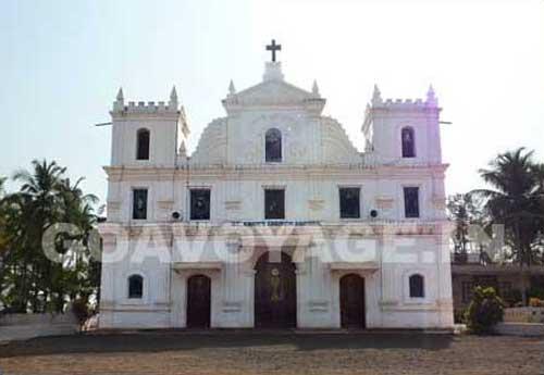 The church of Agonda, South Goa, India