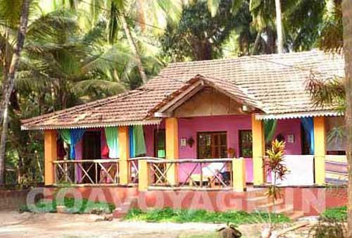 A colorful goan house in Agonda
