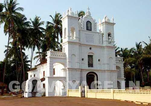 anjuna church, north goa, india