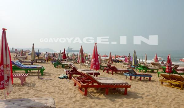 a north goa beach candolim