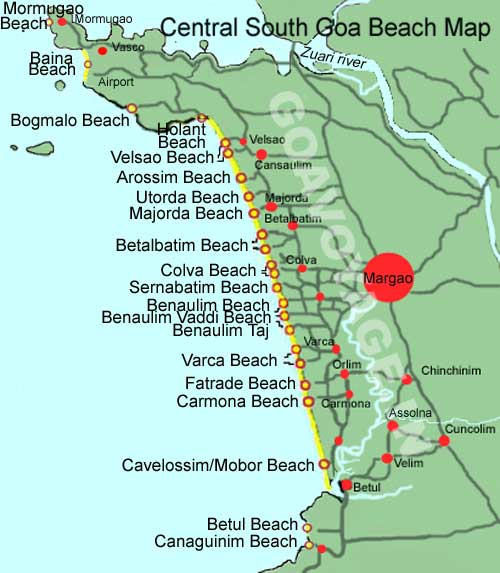 goa-map-central-south-beaches