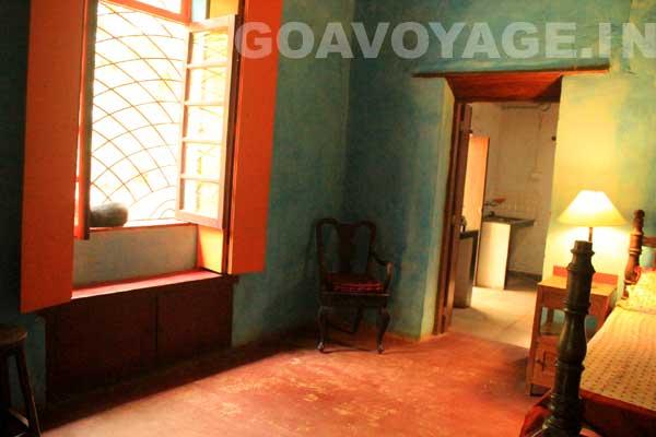 Autre vue de la chambre, Villa Clemente, Sud Goa, Inde