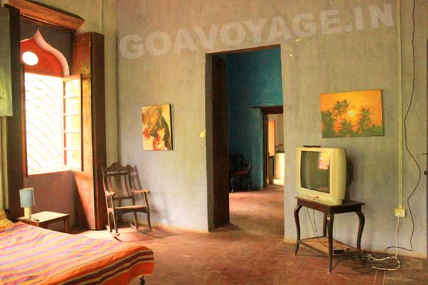 Autre vue du salon, Villa Clemente, Sud Goa, Inde