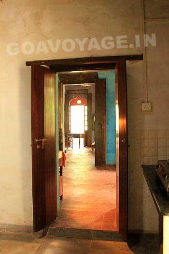 Pièces en enfilade, Villa Clemente, sud Goa, Inde