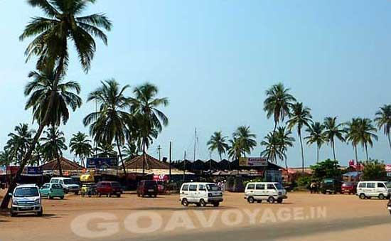 Restaurants in Colva beach, South Goa, India